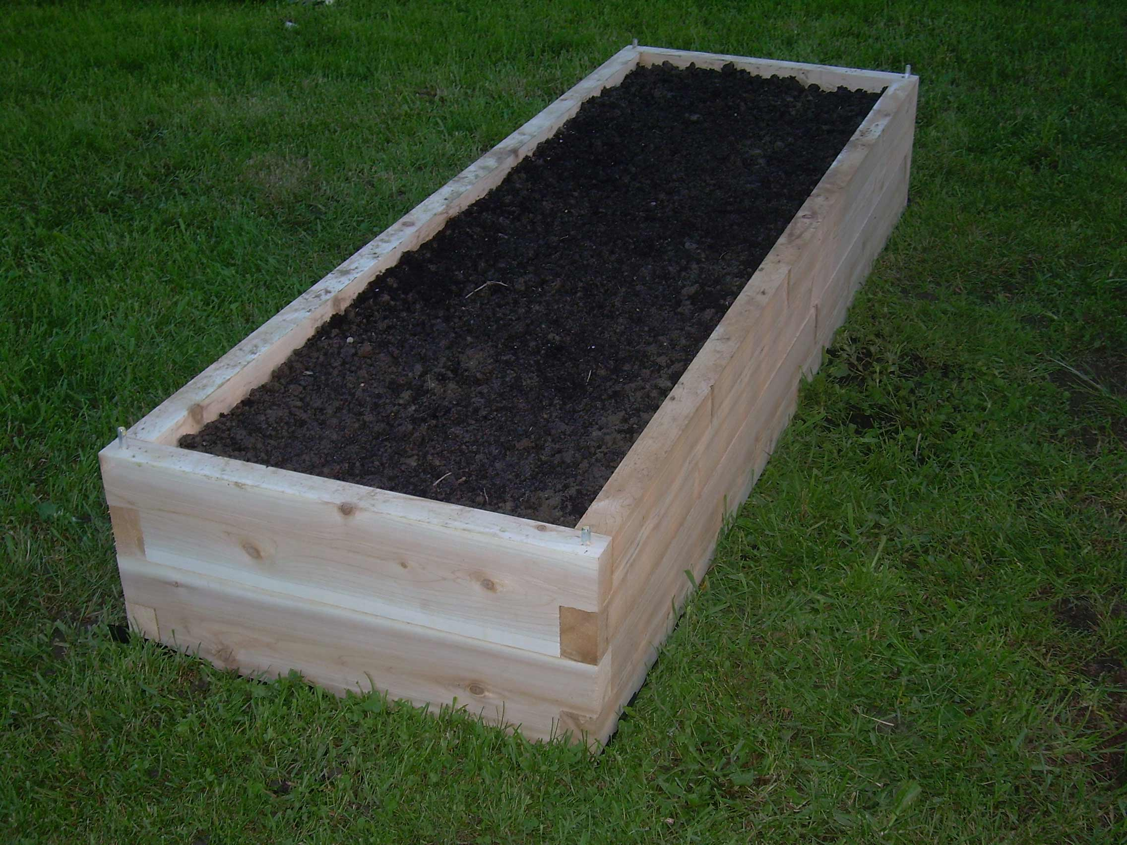 raised bed garden kits home depot terrasse en bois. Black Bedroom Furniture Sets. Home Design Ideas